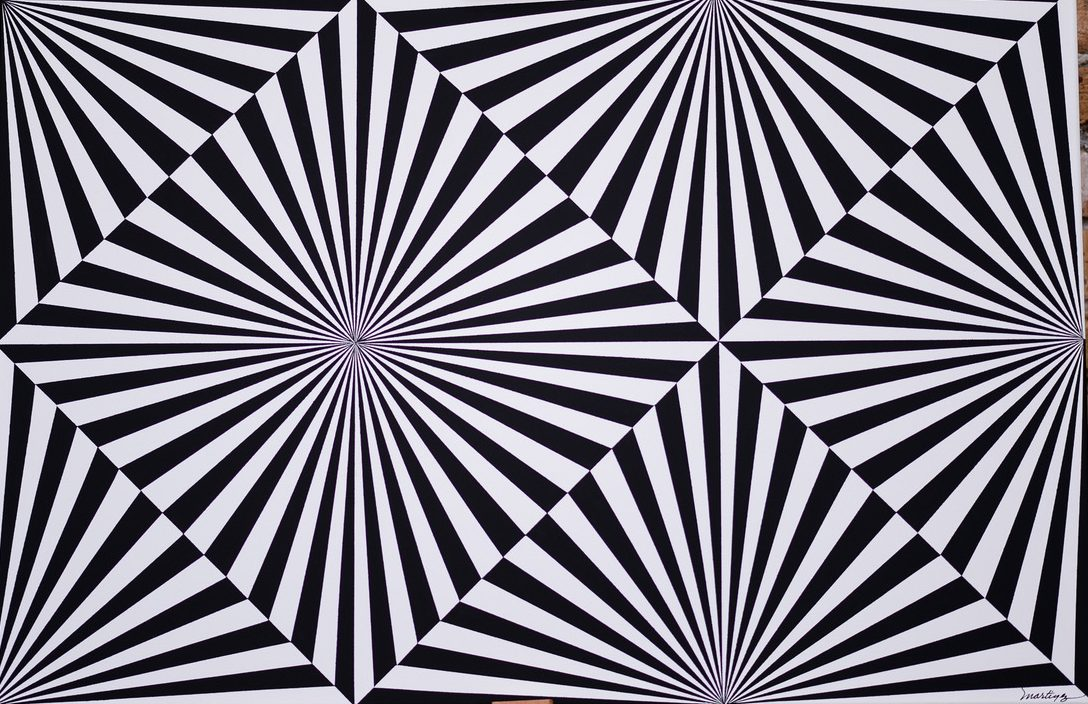 ROMARTINEZART  Abstract and Op-Art